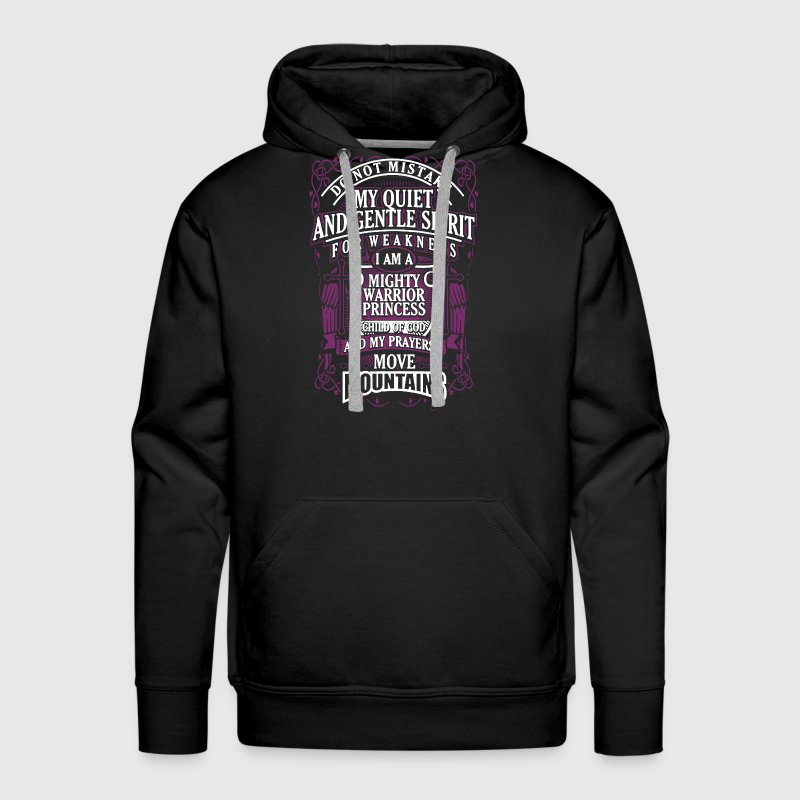 I Am A Mighty Warrior Princess - Men's Premium Hoodie