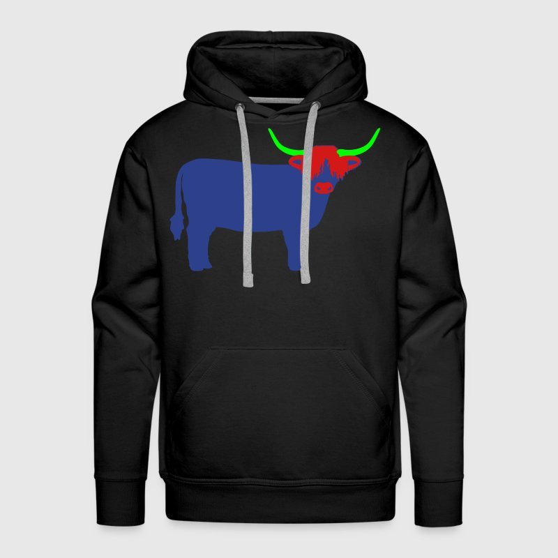 Highland Cattle Hoodies - Men's Premium Hoodie