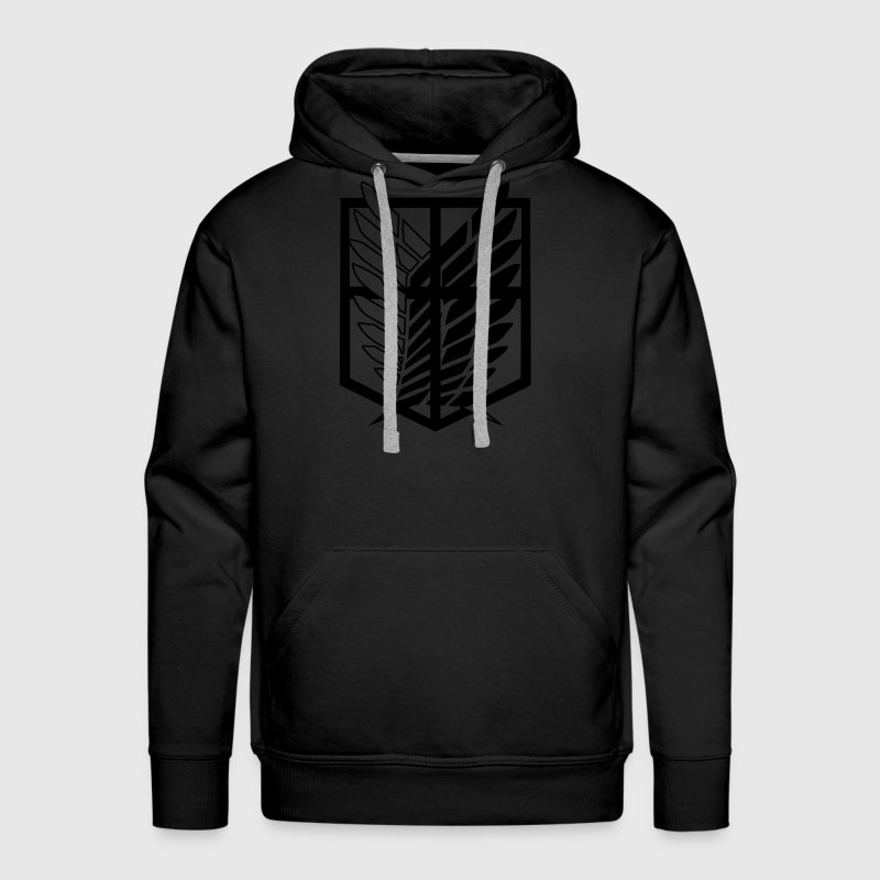 Survey Corps | Attack on Titans Hoodies - Men's Premium Hoodie