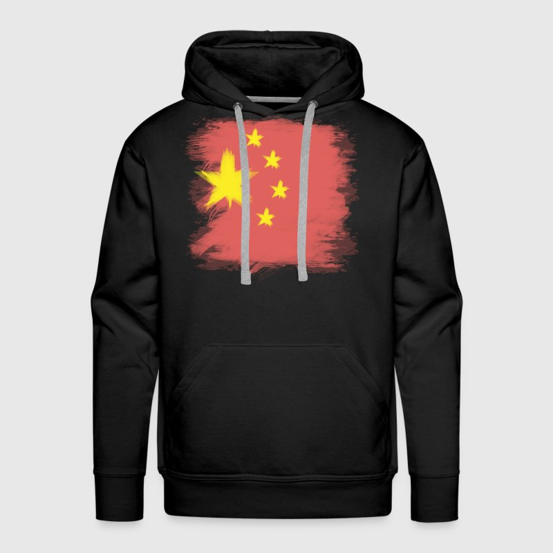 China Flag Chinese Hoodies - Men's Premium Hoodie