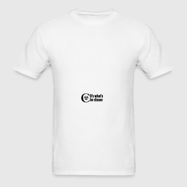 Chemo  It's what's for dinner Caps - Men's T-Shirt