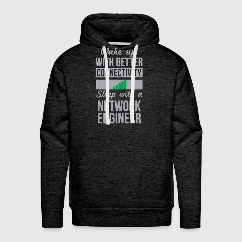 Funny Network Engineer - Men's Premium Hoodie