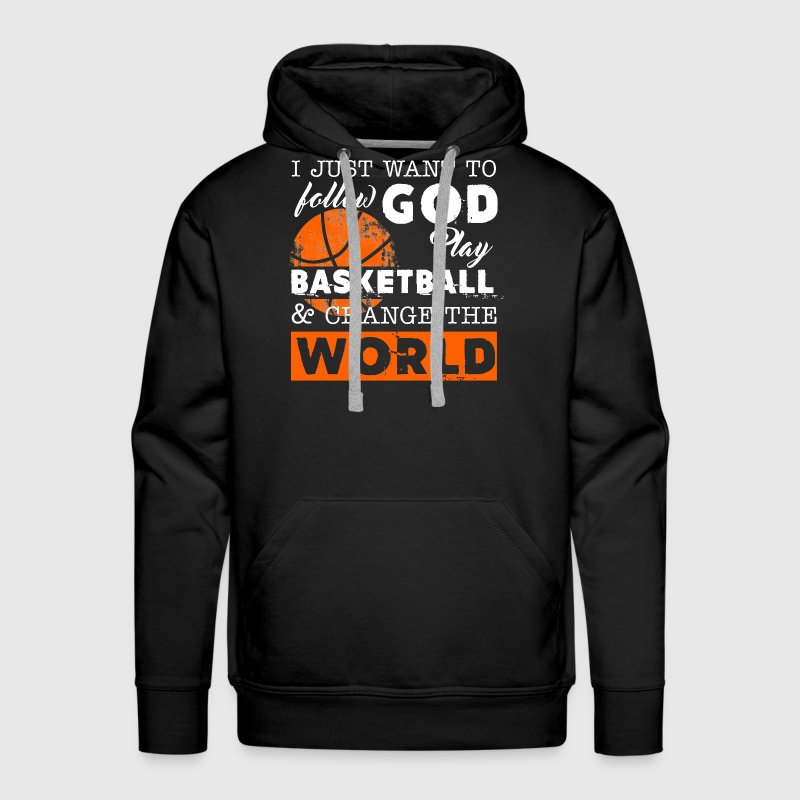 Play Basketball Shirt - Men's Premium Hoodie