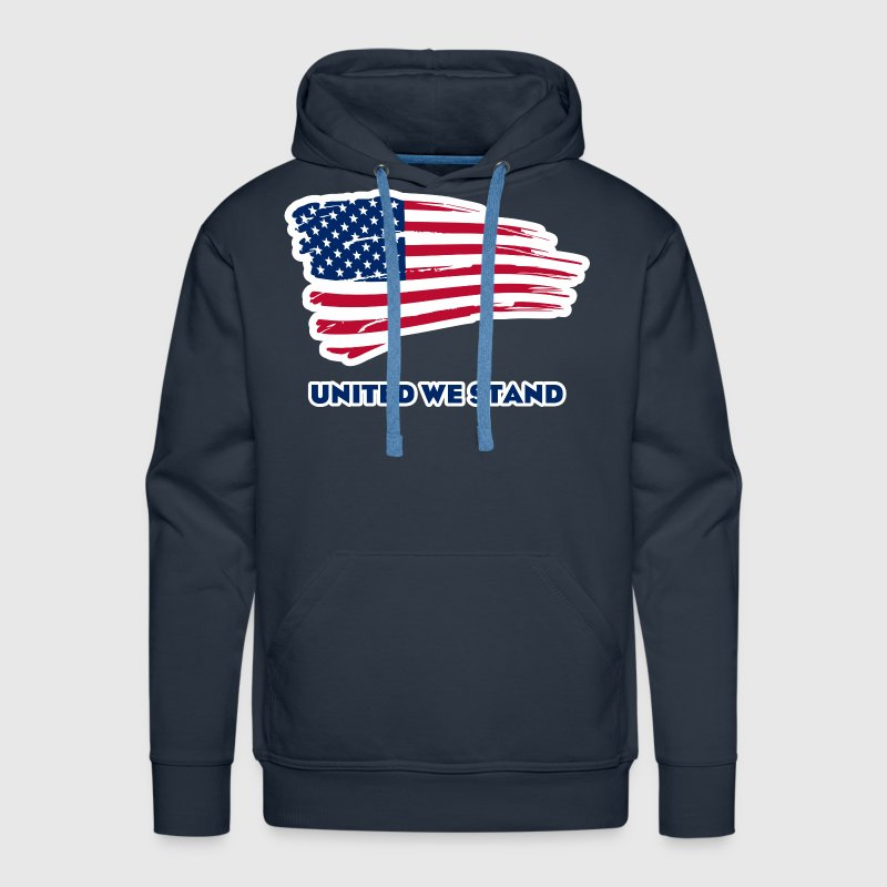 United we stand Hoodies - Men's Premium Hoodie