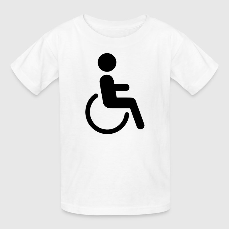 Disabled Logo Kids' Shirts - Kids' T-Shirt