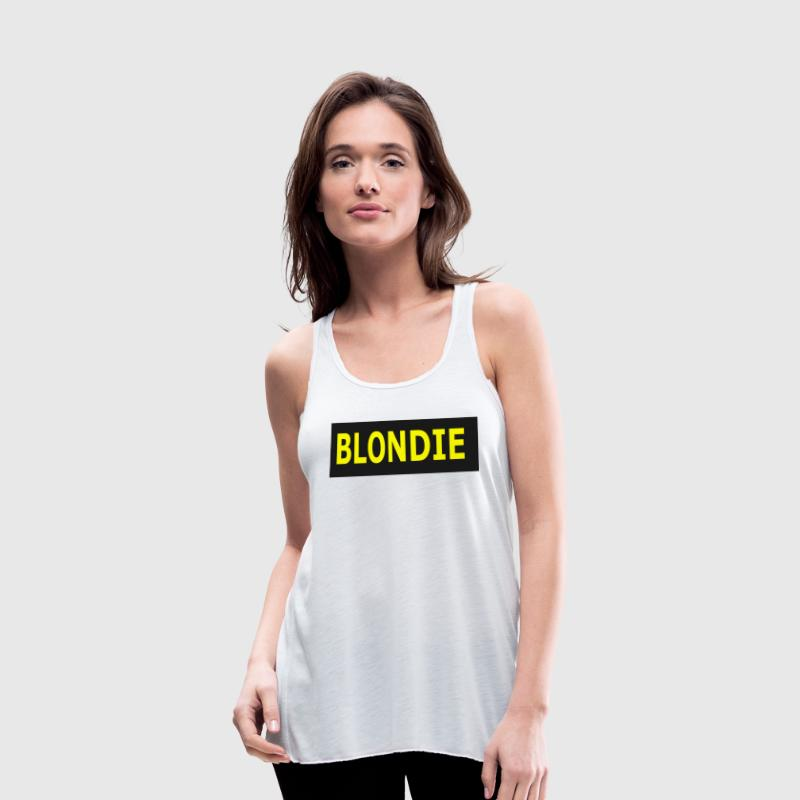 BLONDIE - Women's Flowy Tank Top by Bella