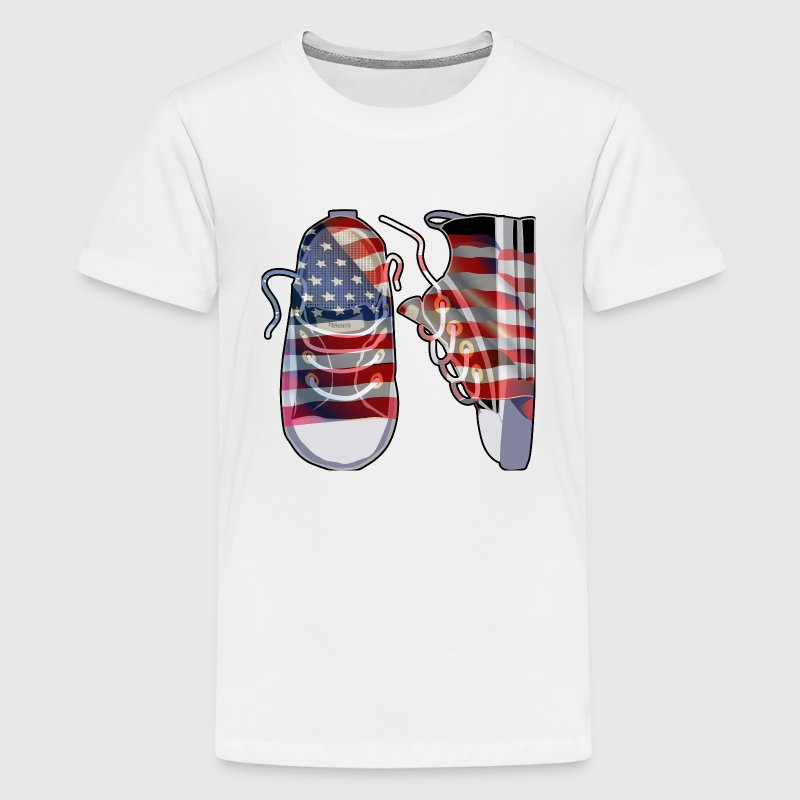 Sneakers t shirt spreadshirt for Custom t shirts add photo