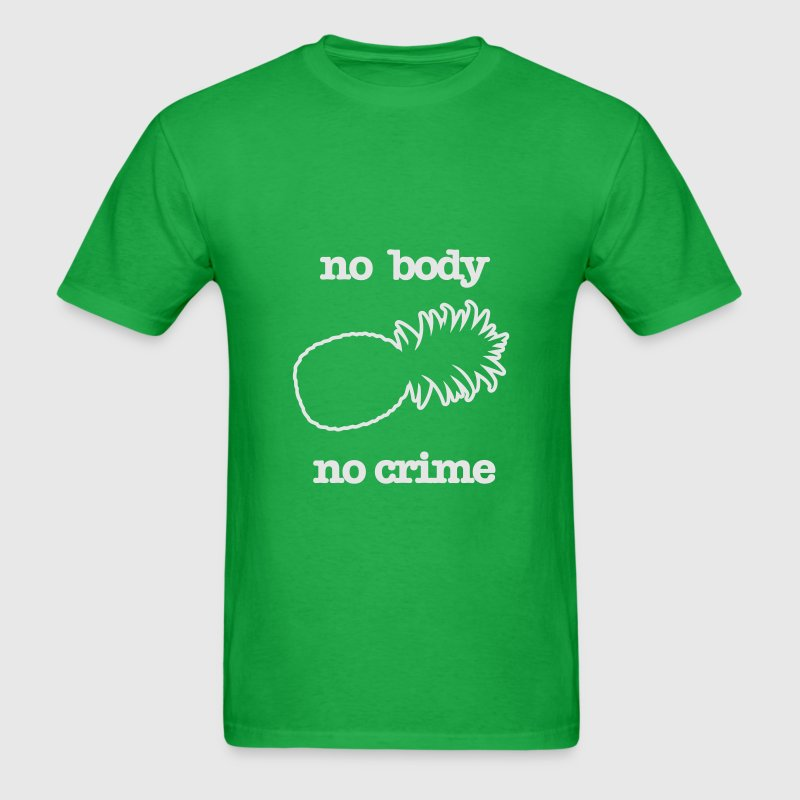 KCCO - NO BODY NO CRIME PSYCH T-Shirts - Men's T-Shirt