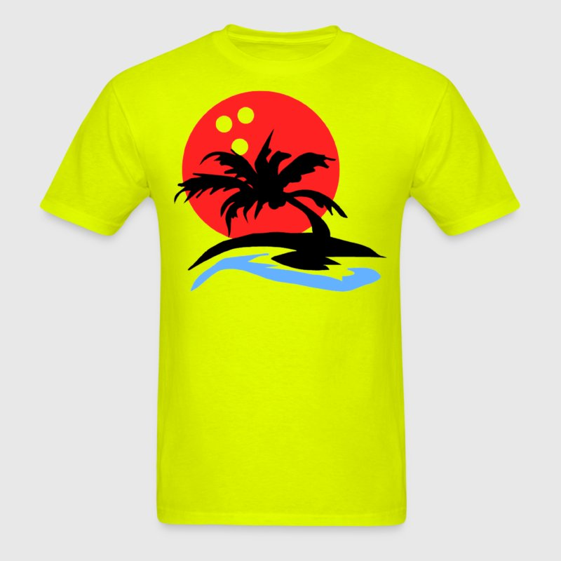 Sunset Bowling - Men's T-Shirt