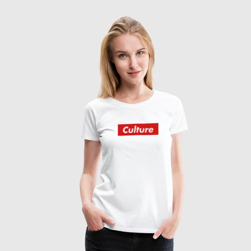 Culture Box Logo T-Shirts - Women's Premium T-Shirt