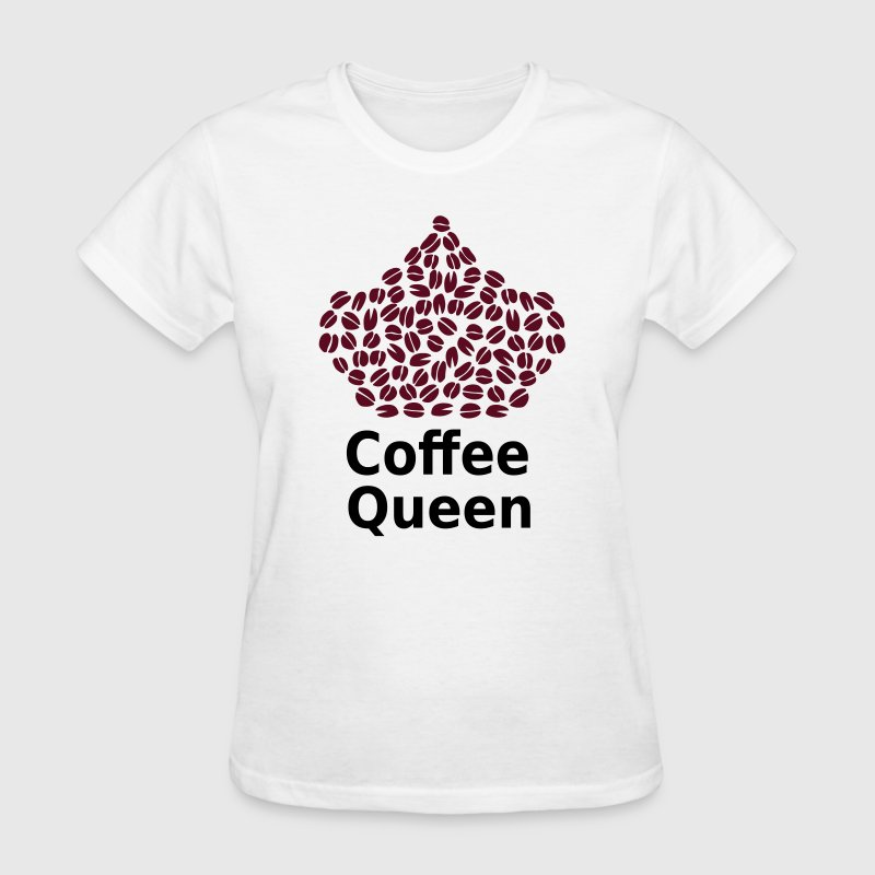 Coffee Queen T-Shirt - Love Coffee T-Shirt T-Shirts - Women's T-Shirt