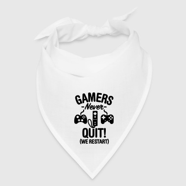 Gamers never sleep, we restart Phone & Tablet Cases - Bandana