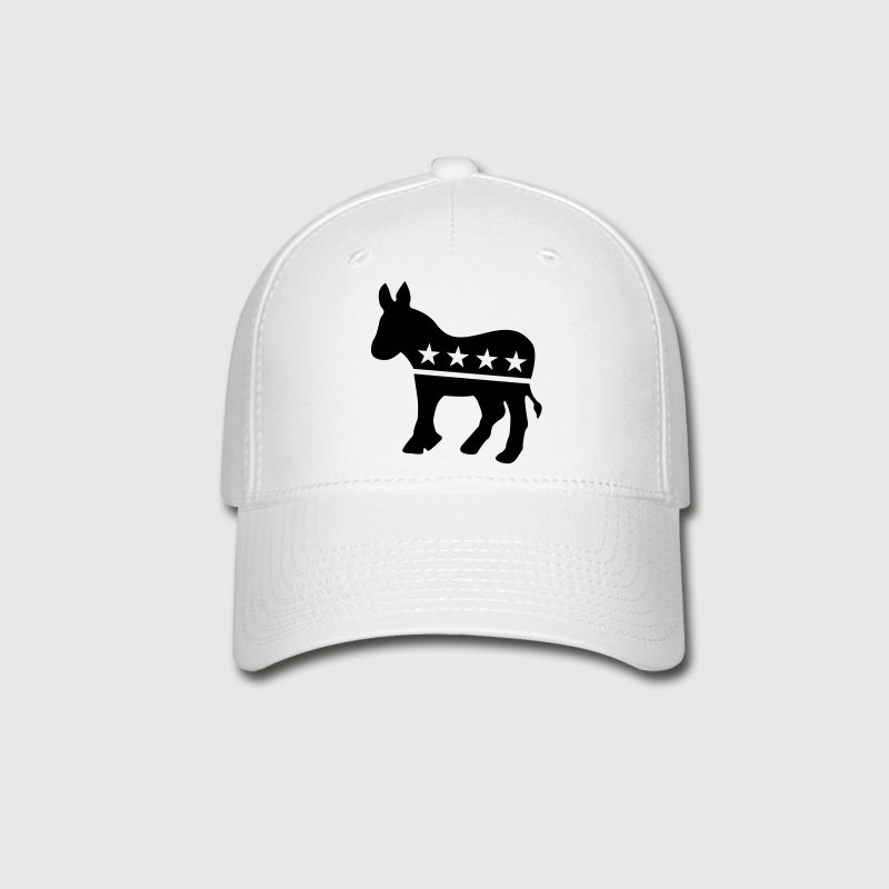 Democrat Donkey ONE COLOR Caps - Baseball Cap