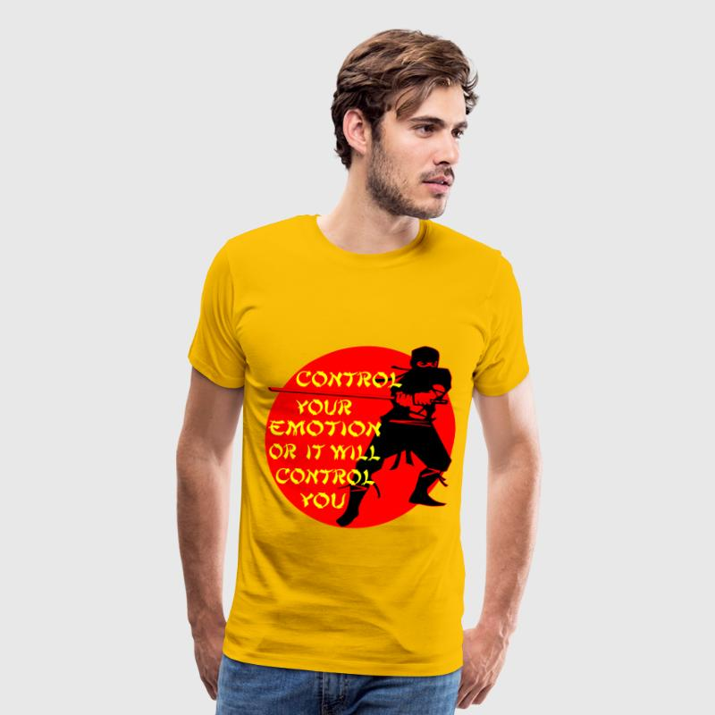 Ninja Control Your Emotion Or It Will Control You  - Men's Premium T-Shirt