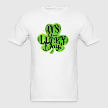St Patricks Lucky Day Long Sleeve Shirts - Men's T-Shirt