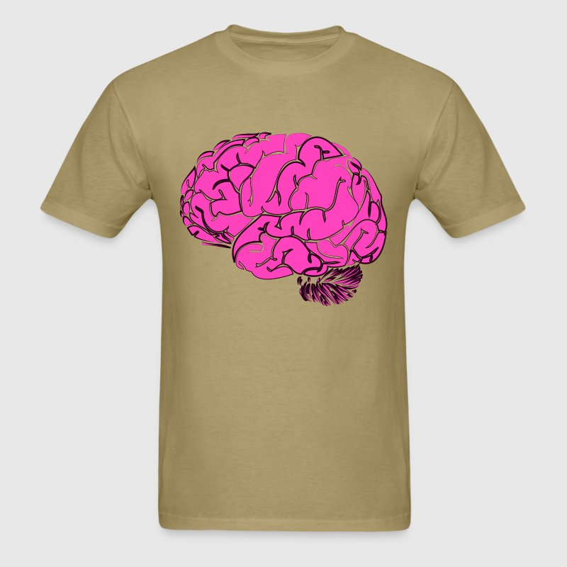 Pink Brain T-Shirts - Men's T-Shirt