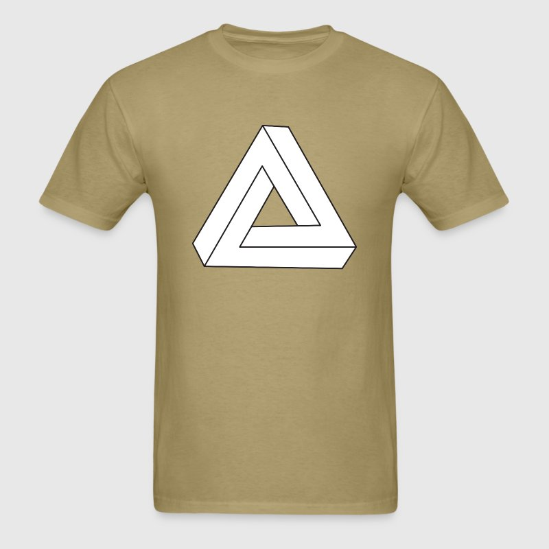 Impossible Triangle T-Shirts - Men's T-Shirt