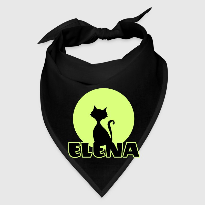 Elena Name day first name personal gift moonlight  Caps - Bandana