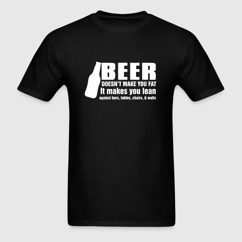 Funny beer joke - Men's T-Shirt