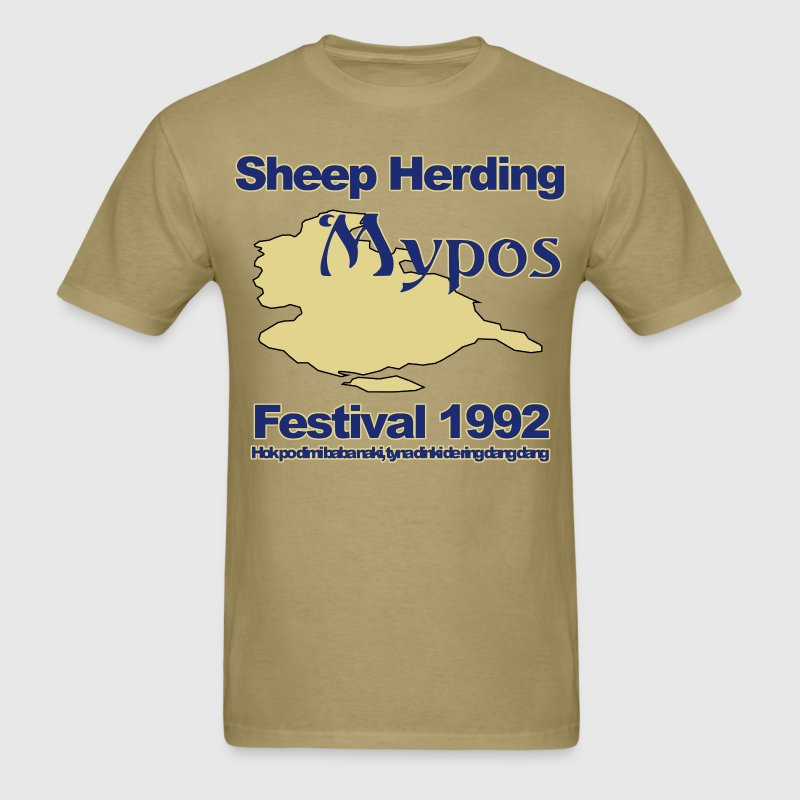 Mypos Sheep Festival - Men's T-Shirt