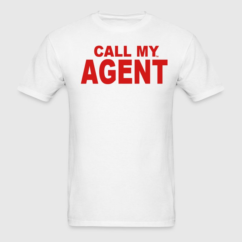 CALL MY AGENT T-Shirts - Men's T-Shirt
