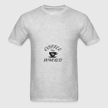 Coffee Powered (Black) Bags & backpacks - Men's T-Shirt