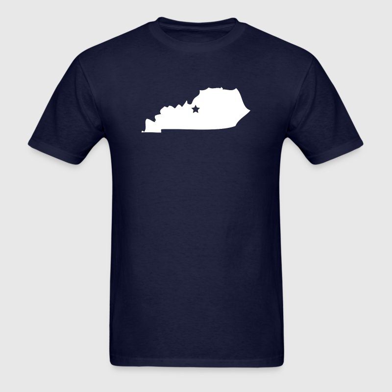 Kentucky Silhouette Star T-Shirts - Men's T-Shirt