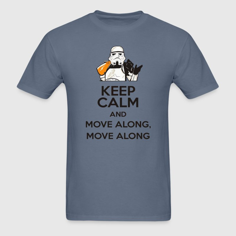 Funny Star Wars Stormtrooper move along edition T-Shirts - Men's T-Shirt