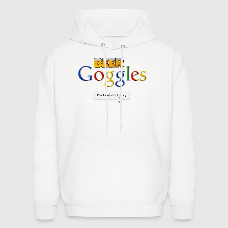 Beer Goggles - I'm Feeling Lucky Hoodies - Men's Hoodie
