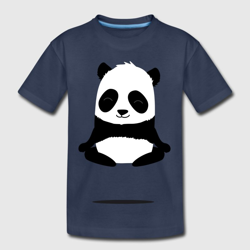 Meditating panda Baby & Toddler Shirts - Toddler Premium T-Shirt