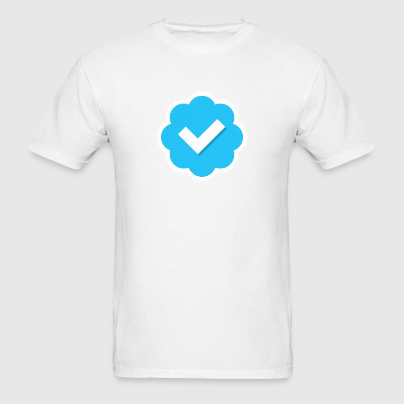 Twitter Verified T-Shirts - Men's T-Shirt