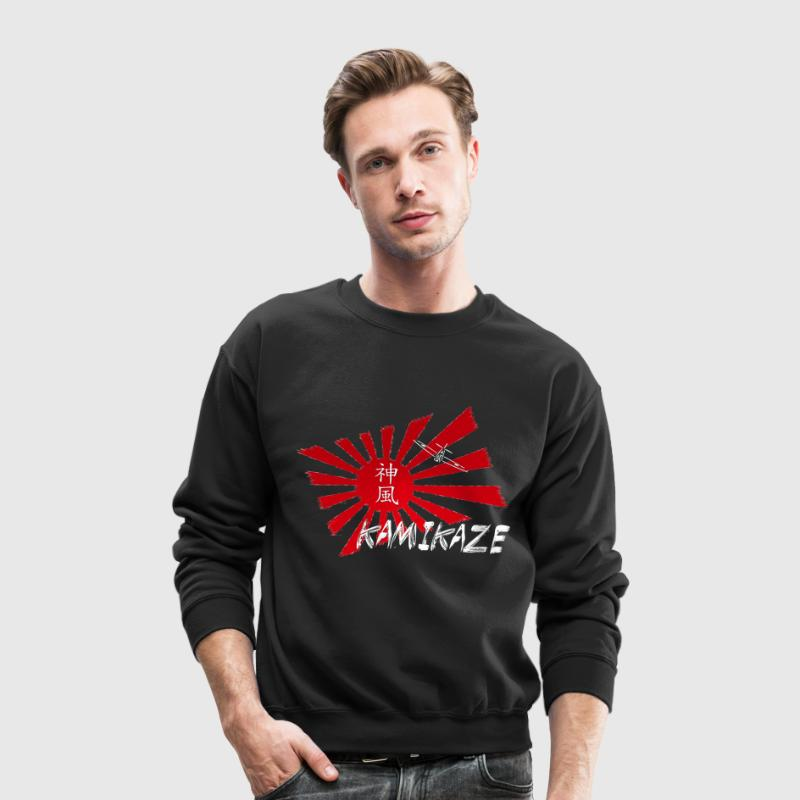 Kamikaze Long Sleeve Shirts - Crewneck Sweatshirt