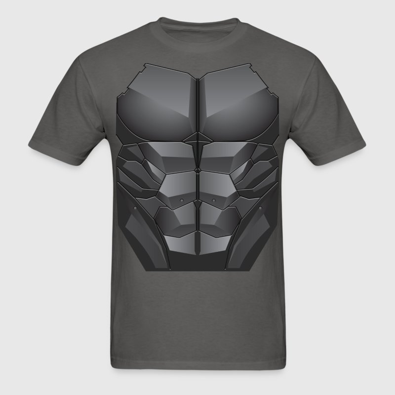 2D Chest Abs - Men's T-Shirt