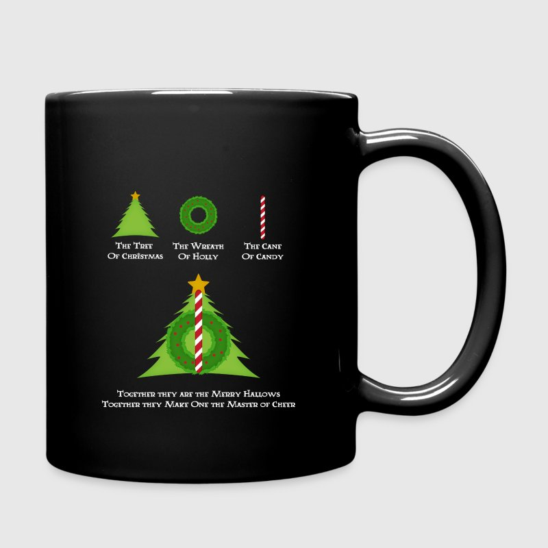 Harry Potter and the Merry Hallows Christmas Mug - Full Color Mug