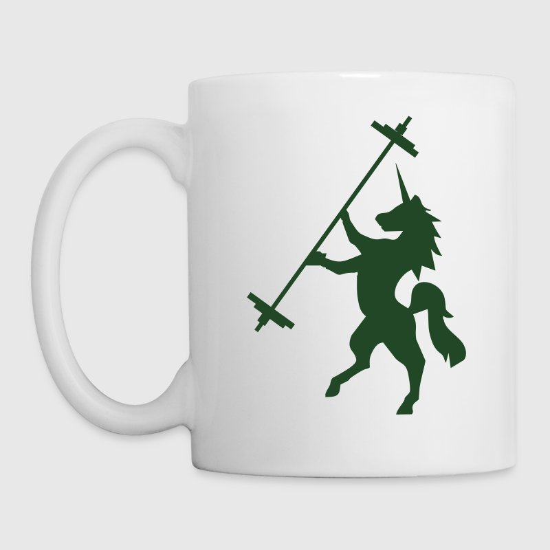 Unicorn Barbell - AMRAP Style Mugs & Drinkware - Coffee/Tea Mug