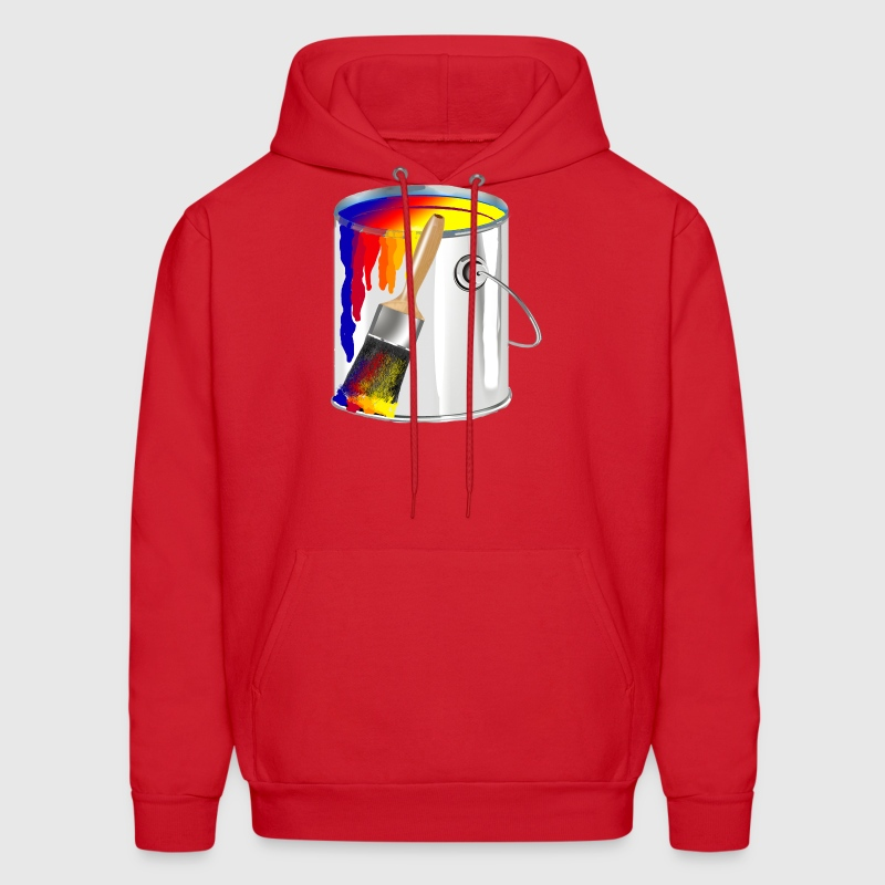 Paint Bucket - Men's Hoodie