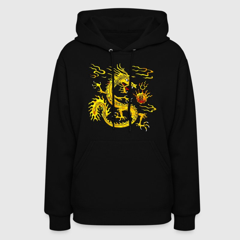 Golden Dragon Hoodies - Women's Hoodie