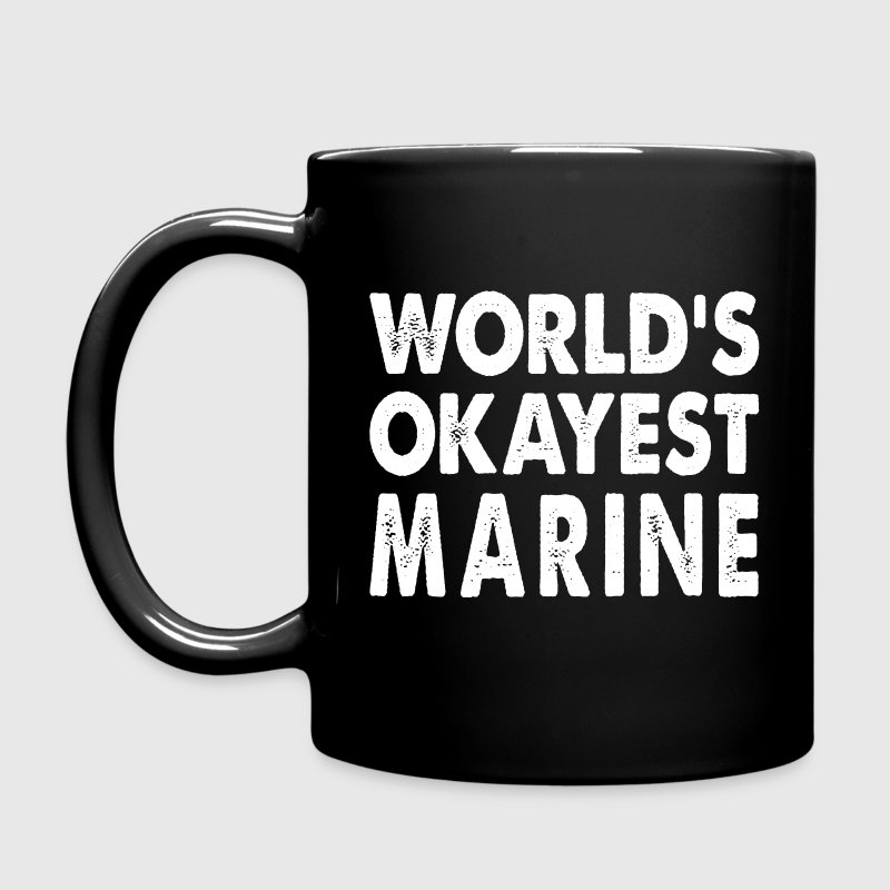 World's Okayest Marine Mugs & Drinkware - Full Color Mug