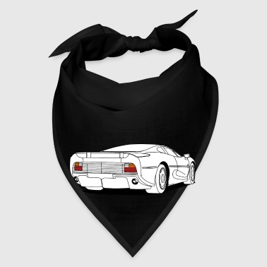 cool car white Mugs & Drinkware - Bandana