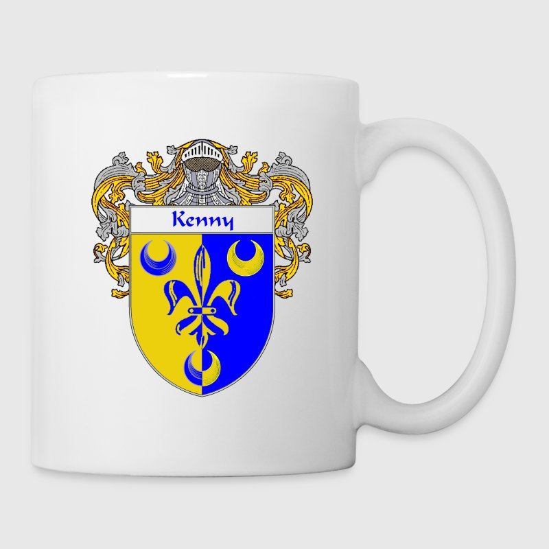 Kenny Coat of Arms/Family Crest - Coffee/Tea Mug