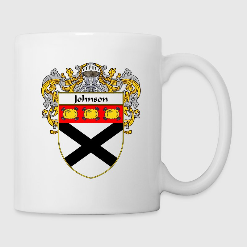 Johnson Coat of Arms/Family Crest - Coffee/Tea Mug