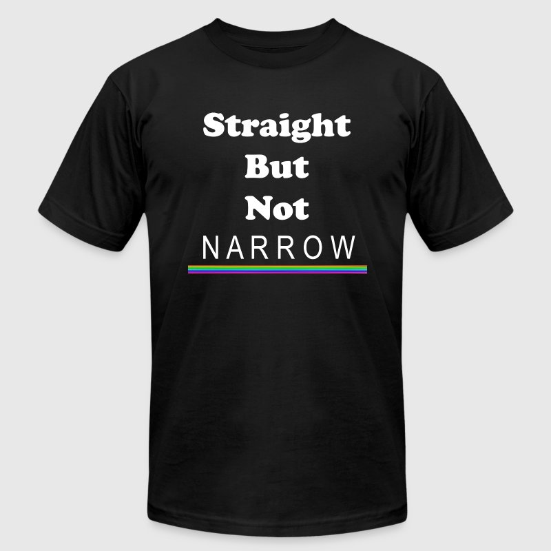 Straight But Not Narrow - Men's T-Shirt by American Apparel