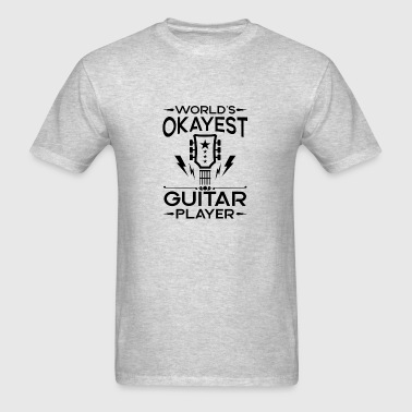 World's Okayest Guitar Player - cool band gift Sportswear - Men's T-Shirt