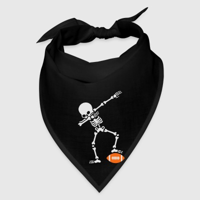 Dab dabbing skeleton rugby - American football Bags & backpacks - Bandana