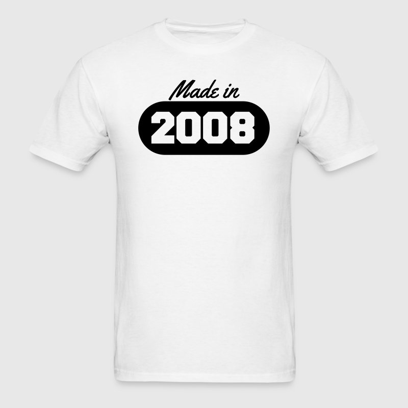 Made in 2008 T-Shirts - Men's T-Shirt