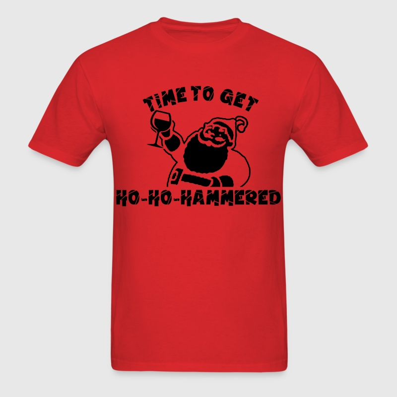 Ho Ho Hammered T-Shirts - Men's T-Shirt