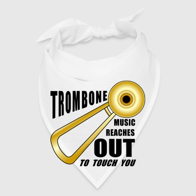 Trombone Reaches Out  Phone & Tablet Cases - Bandana
