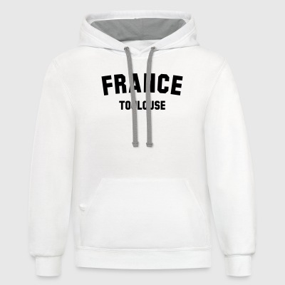 TOULOUSE - Contrast Hoodie