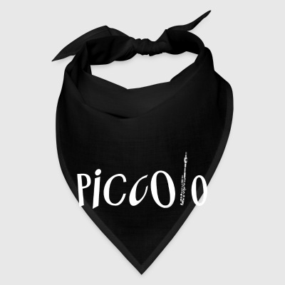 Piccolo In Piccolo White Text Bags & backpacks - Bandana