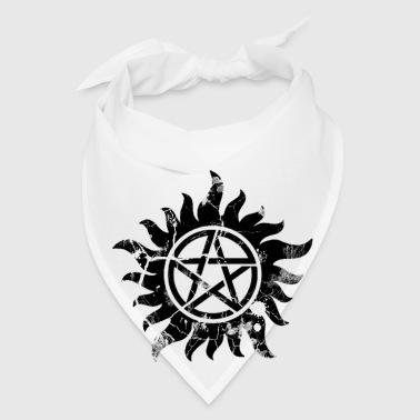 Cracked Anti-Possession Symbol Dark - Bandana